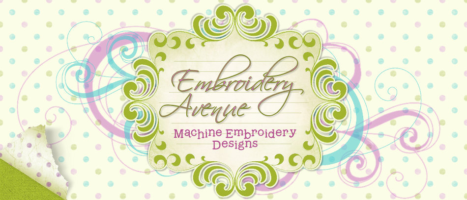 Welcome to Embroidery Avenue!